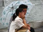 Amor e um guarda-chuva