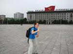 Armada em Engraçada na Praça Kim Il-sung...
