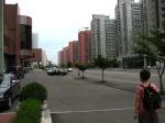 Avenida em Pyongyang