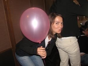 Escondida no Balão