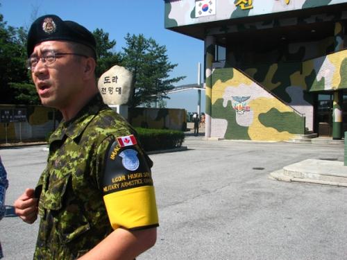 Hugh Son - o homem que guarda o portão sul-coreano