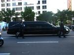 O carro funerário