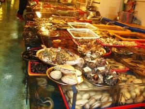Busan - vários Peixes