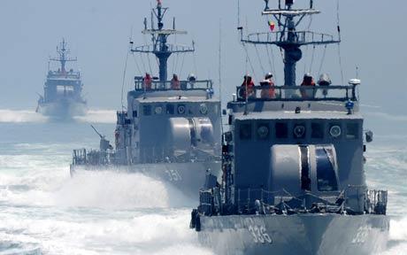 barcos sul-coreanos